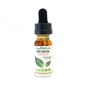 Raspberry Hemp Tincture 1000mg CBD, 0.5 fl oz