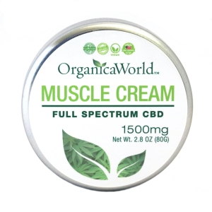 Muscle Cream 1500mg, 2.8oz