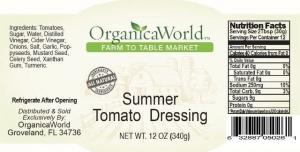 Summer Tomato Dressing