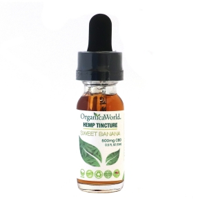 Sweet Banana Hemp Tincture 500mg CBD, 0.5 fl oz