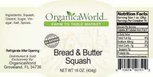 Bread & Butter Squash