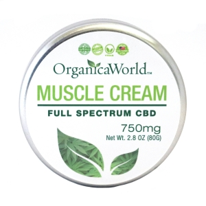 Muscle Cream 750mg, 2.8oz