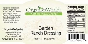 Garden Ranch Dressing
