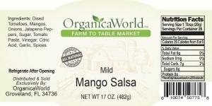 Mild Mango Salsa