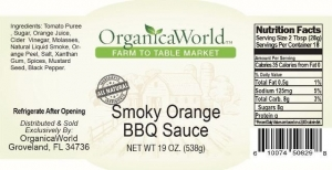 Smoky Orange BBQ Sauce