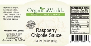 Raspberry Chipotle Sauce